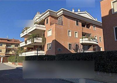 Appartamento all'asta via Siligo 10, Roma