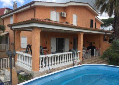 Villa all'asta via Giambettino Cignaroli 22, Roma